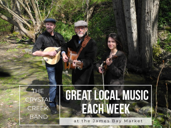 Let us entertain you at the James Bay Community Market on June 2nd