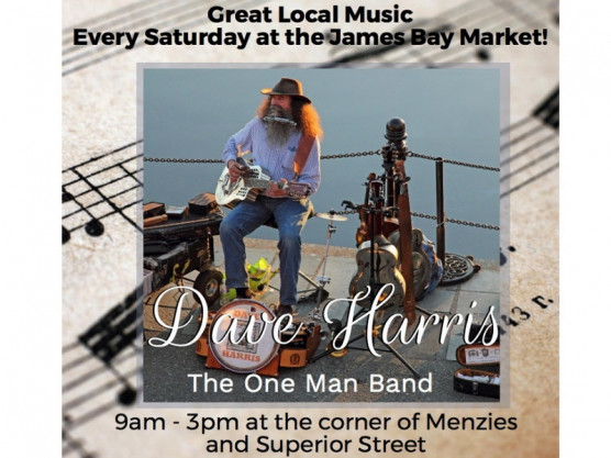 Music for May 26th, 2018 – James Bay Community Market