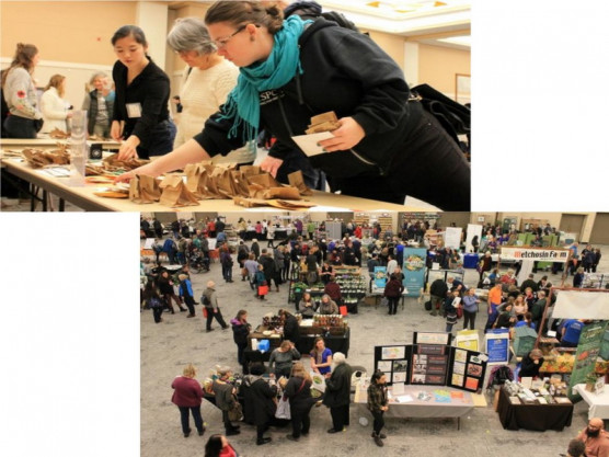 Your gardening year starts at Victoria Seedy Saturday!